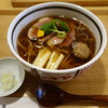 一策 - 料理写真:2017.01 鴨南蛮そば(1550円)