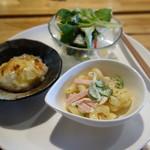 カフェテラス サクラ - 料理写真:定食の前菜てい