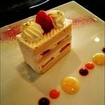 ツボ デ スイーツ - ショートケーキ。