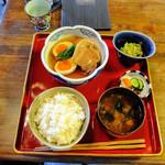 鐵馬厩 - 角煮定食