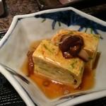 野郎寿司 - セットの餡かけたまご