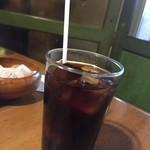 61532908 - 170107東京 喫茶アンデス セットアイスコーヒー