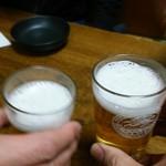 61533199 - 乾杯(^^♪(シャッターが遅くて2人だけに~(´ε`; )ウーン)