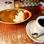 アラビゴコーヒー - カレーライスセット600円+税
