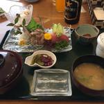 魚料理 うおたつ - 【ランチ】あじのたたき膳