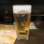 どでか寿司 - 生ビール
