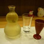 利光 - 梅の宿と食前酒