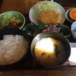 絵馬亭 - 「絵馬定食」(900円)