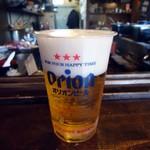 61537363 - 「オリオンビール」480円也。