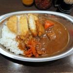 バルチックカレー - チキンカツカレー(ビーフ)¥800