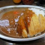 バルチックカレー - 特製ビーフカレー(辛口)¥650+チキンカツ¥150