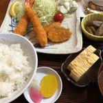 びんび - フライランチ(750円)(2017.01現在)