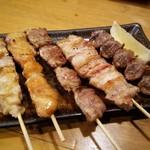 焼膳 - おまかせ串盛