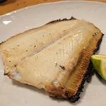 天史朗寿司 - カレイの干物 身がふっくらとして美味しい