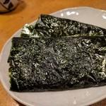 天史朗寿司 - タイラ貝の磯辺巻き