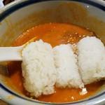 はなさき家 - 残ったスープに投入!