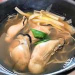 蕎麦 月読 - 季節物 牡蠣そば