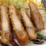 シンショー製麺うどん なべちゃん - トンカツ定食