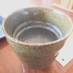 そば処 井田農園 - 蕎麦湯