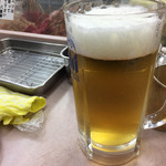 八重勝 - 生ビール 大