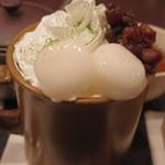 マッチャ ハウス 抹茶館 - 抹茶チョコレートラテ