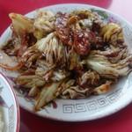 雪梅 - 回鍋肉定食800円