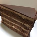 サンタクロース - 料理写真:チョコレートケーキ