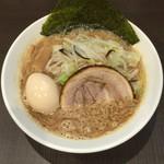 麺屋りゅう - 味噌らーめん(並) + 味玉