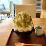 おちゃのこ - 擂茶氷(葛餅入り)