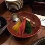 俺の割烹 - 野菜炊き合わせ
