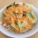 ルンビニ - セットのサラダ