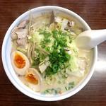 本格屋台 大ちゃんらー麺 - チャンポン+味玉