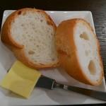 カフェダイニング よりみち - セットのパン