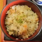 藤矢 - 牡蠣ご飯