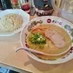 天下一品 - チャーハン定食 980円