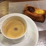 breadworks エキュート品川 - エスプレッソとマロンデニッシュ