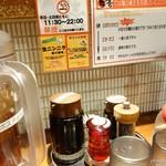 ラの壱 - 2016年11月 調味料軍団!