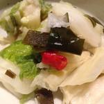 すずき - 白菜のお漬物