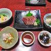 高烏谷鉱泉 - 料理写真:夕食(はじめに並べられた料理)
