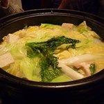 6155339 - 1回目の鍋。博多水炊き。
