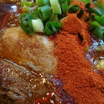 61551023 - 辛口炙り肉ソバ醤油Lv.2♪