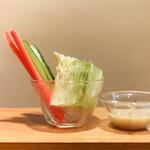 炭焼 ちきんかばぶ - 野菜スティック