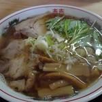 じげん - 飛魚中華そば(醤油)700円