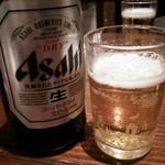 五十六 - 瓶ビールで乾杯(^^♪