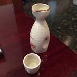 篠寿司 - 四季桜熱燗