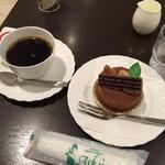 葦 - ブレンドとケーキ