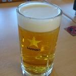 お食事処 本家さぬきや - ドリンク写真:生ビール(中)
