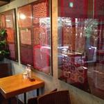 サザ コーヒー - 1番奥のパッチワークのお部屋
