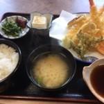 はせ川 - 料理写真:天ぷら定食上