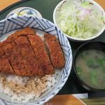 志多美屋本店 - ソースかつ丼(ロース)全景